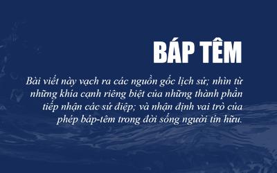 Phép Báp-têm